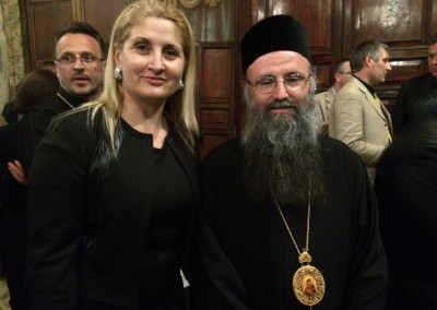 il segretario Generale Vasile incontra il Capo della Chiesa Romano Ortodossa